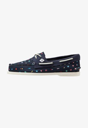 2-EYE PREP - Chaussures bateau - navy