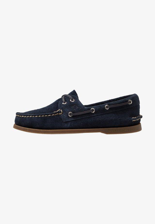 2-EYE - Boat shoes - navy