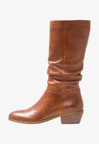 Steven New York by SPM - WRINKLESAM - Boots - cognac - 1
