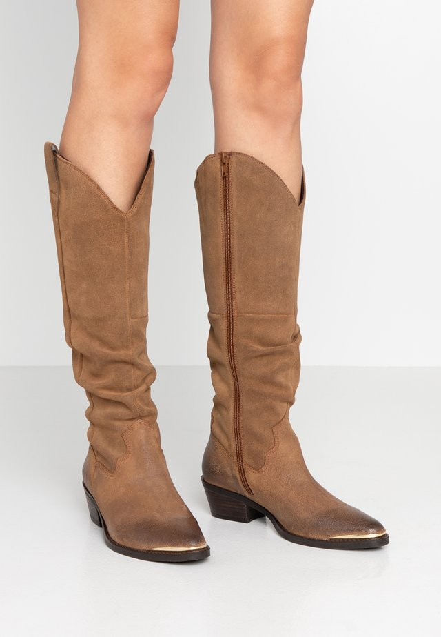 ARIZONA - Cowboy-/Bikerboot - cognac