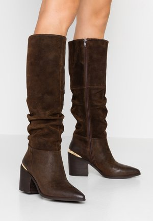 STINE - Cowboy/Biker boots - brown
