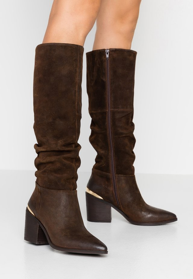 STINE - Cowboy-/Bikerboot - brown
