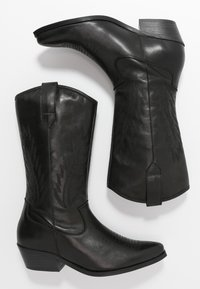 Steven New York by SPM - INSTA FEATHER - Cowboy/Biker boots - black - 3