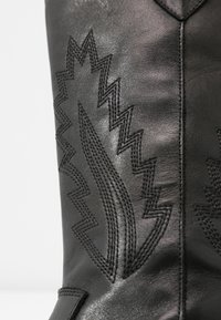 Steven New York by SPM - INSTA FEATHER - Cowboy/Biker boots - black - 2