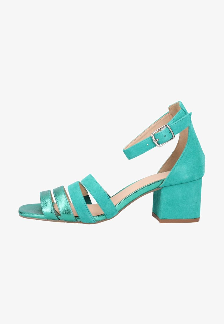 SPM - Ankle cuff sandals - green
