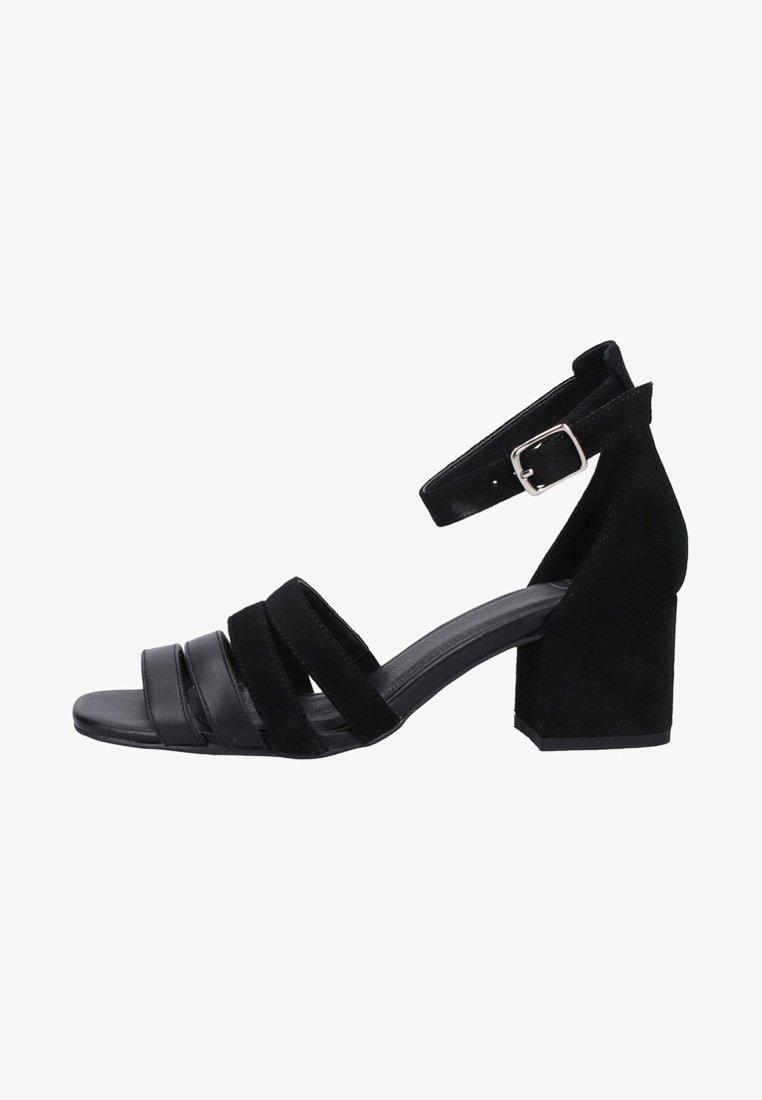 SPM - High heeled sandals - black