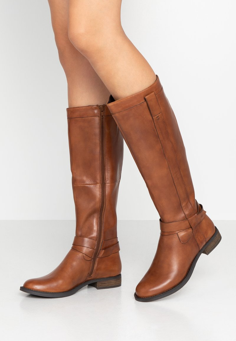 SPM - ANWAR - Boots - cognac