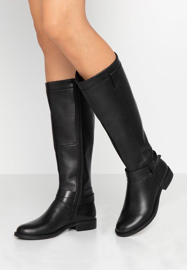 ANWAR - Høje støvler/ Støvler - black