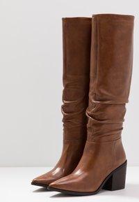 Steven New York by SPM - STINEDER - Boots - cognac - 4