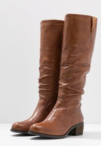 Steven New York by SPM - MONIE - Boots - cognac - 4