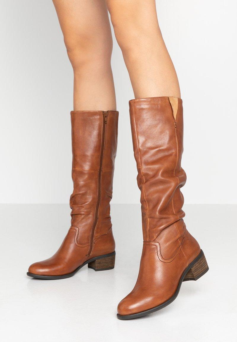 SPM - MONIE - Boots - cognac