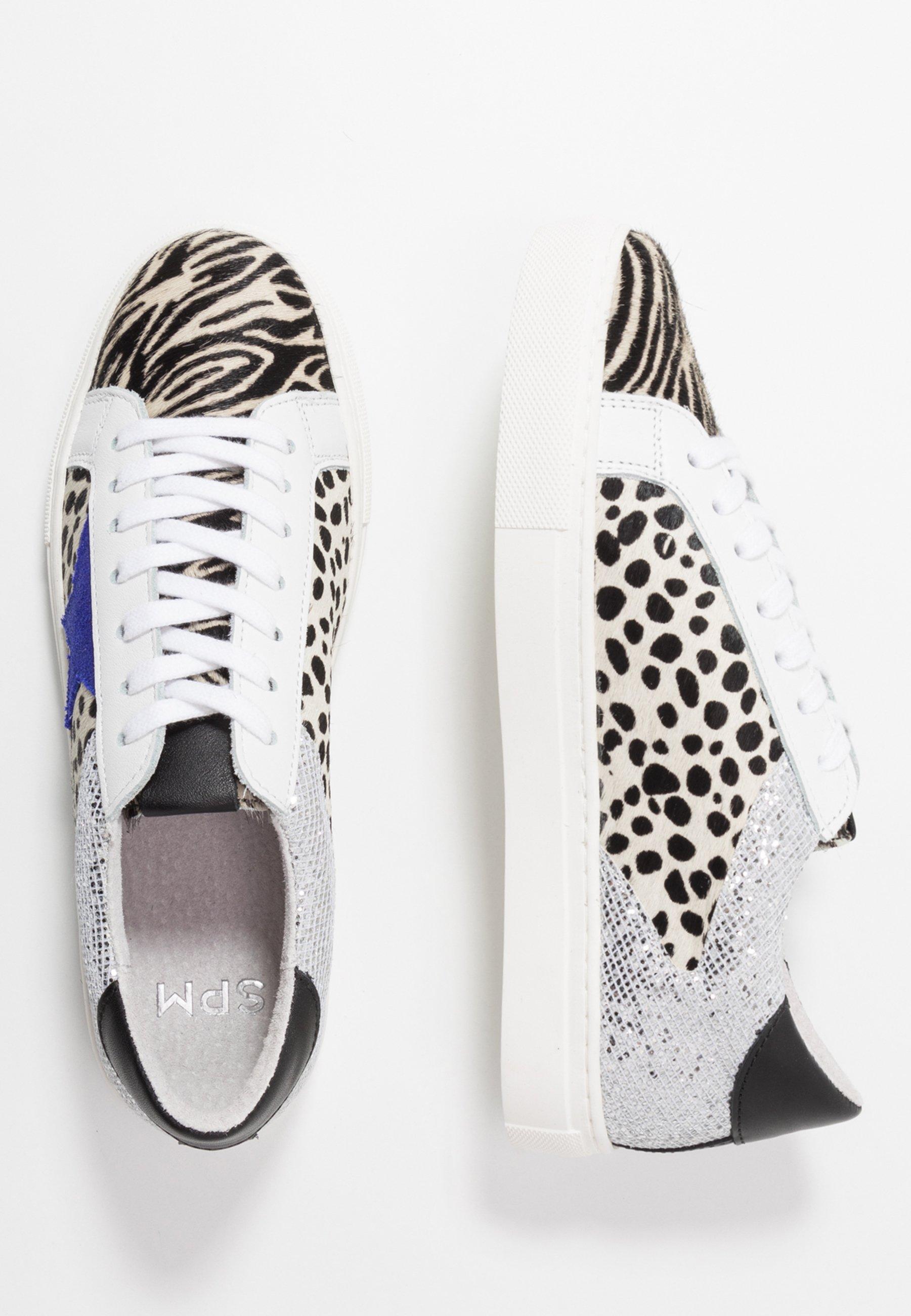Steven New York by SPM STARRY - Sneakersy niskie - silver