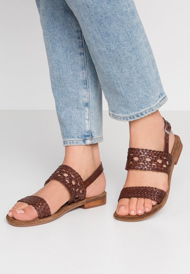 SANDY - Sandals - brown