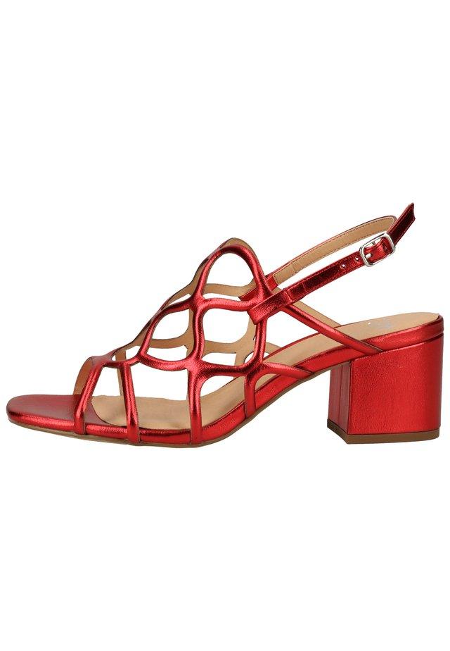 SANDALEN - Sandaler - red 03001