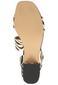 Steven New York by SPM - STEVEN NEW YORK BY SPM SANDALEN - Sandals - zebra black 02340 - 4