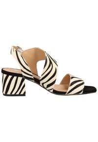 Steven New York by SPM - STEVEN NEW YORK BY SPM SANDALEN - Sandals - zebra black 02340 - 6