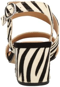 Steven New York by SPM - STEVEN NEW YORK BY SPM SANDALEN - Sandals - zebra black 02340 - 3