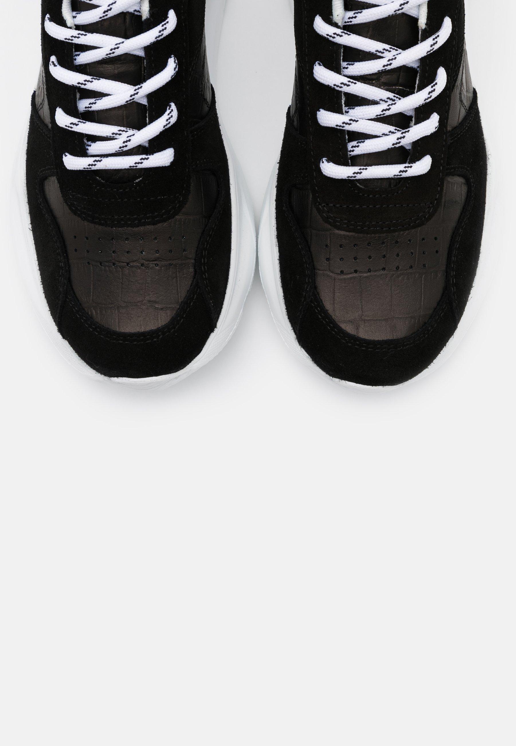Steven New York STACY - Sneakers basse - black Wveh1B1h