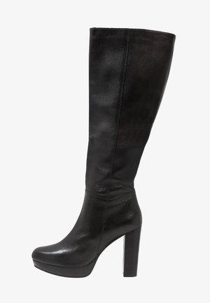 NANO - High heeled boots - black