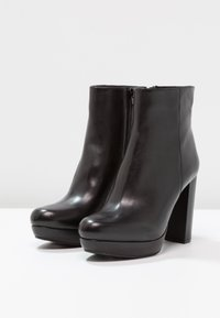 SPM - NANPURL - High heeled ankle boots - black - 4