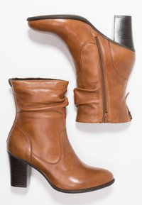 Steven New York by SPM - CARJOSE - Bottines - cognac - 3