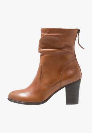 CARJOSE - Bottines - cognac