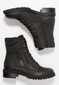 Steven New York by SPM - LOFARMY - Lace-up ankle boots - black - 3
