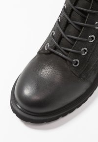 Steven New York by SPM - LOFARMY - Lace-up ankle boots - black - 2