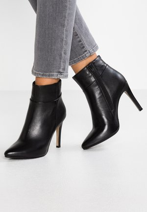 NOLI - High heeled ankle boots - black