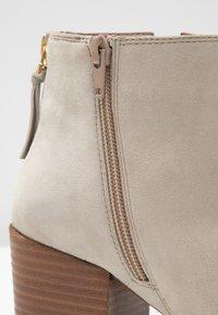 Steven New York by SPM - NEVA - Ankle boots - beige - 2