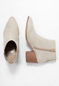 Steven New York by SPM - NEVA - Ankle boots - beige - 3