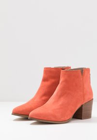 Steven New York by SPM - NEVA - Ankle Boot - coral - 4