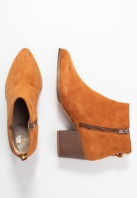 Steven New York - NEVA - Ankle boots - bisquit - 3
