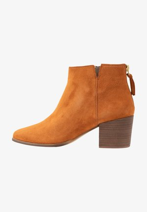 NEVA - Korte laarzen - bisquit