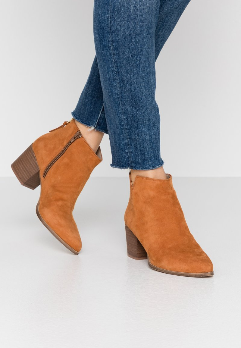 Steven New York - NEVA - Ankle boots - bisquit