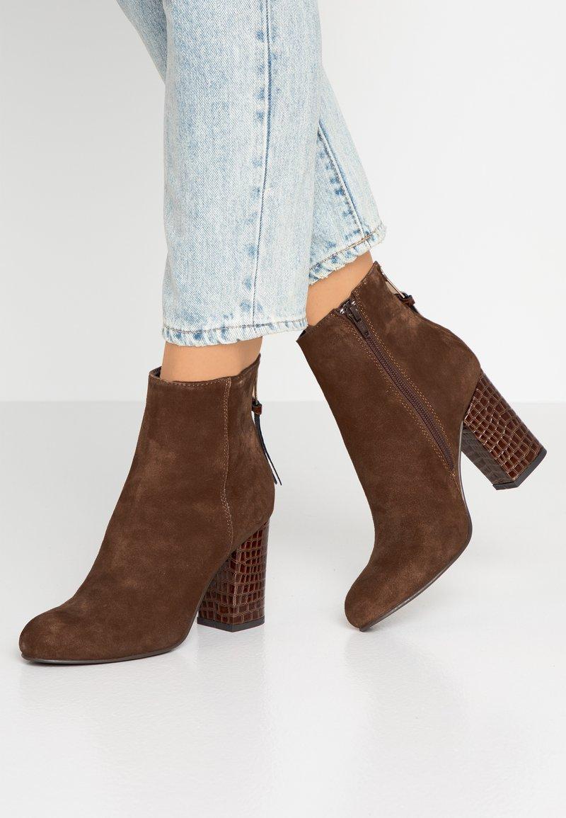 SPM - BENDLE - Classic ankle boots - cognac