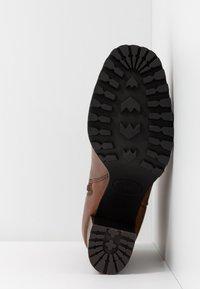 Steven New York by SPM - JONNIE - High heeled ankle boots - cognac - 6