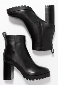 Steven New York by SPM - JONNIE - High heeled ankle boots - black - 3