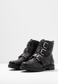Steven New York by SPM - XOFIR - Stivaletti texani / biker - black - 4
