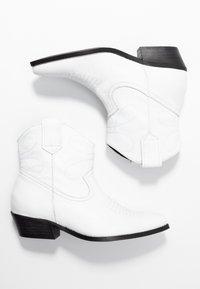 Steven New York - IVA WESTERN - Cowboy- / bikerstøvlette - white - 3
