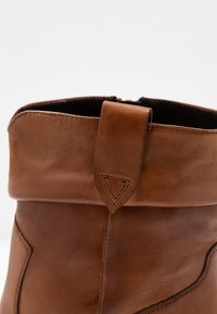 Steven New York - JUNGSTER - Classic ankle boots - cognac - 2