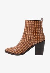 SPM - LOCK - Ankle boot - cognac - 1
