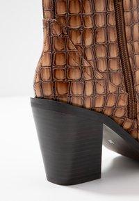 SPM - LOCK - Ankle boot - cognac - 2