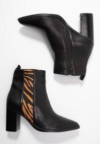 Steven New York - HIGER - Ankelstøvler - black - 3