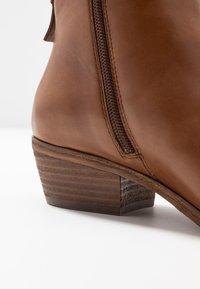 Steven New York by SPM - MAIZIP - Ankle boots - cognac - 2