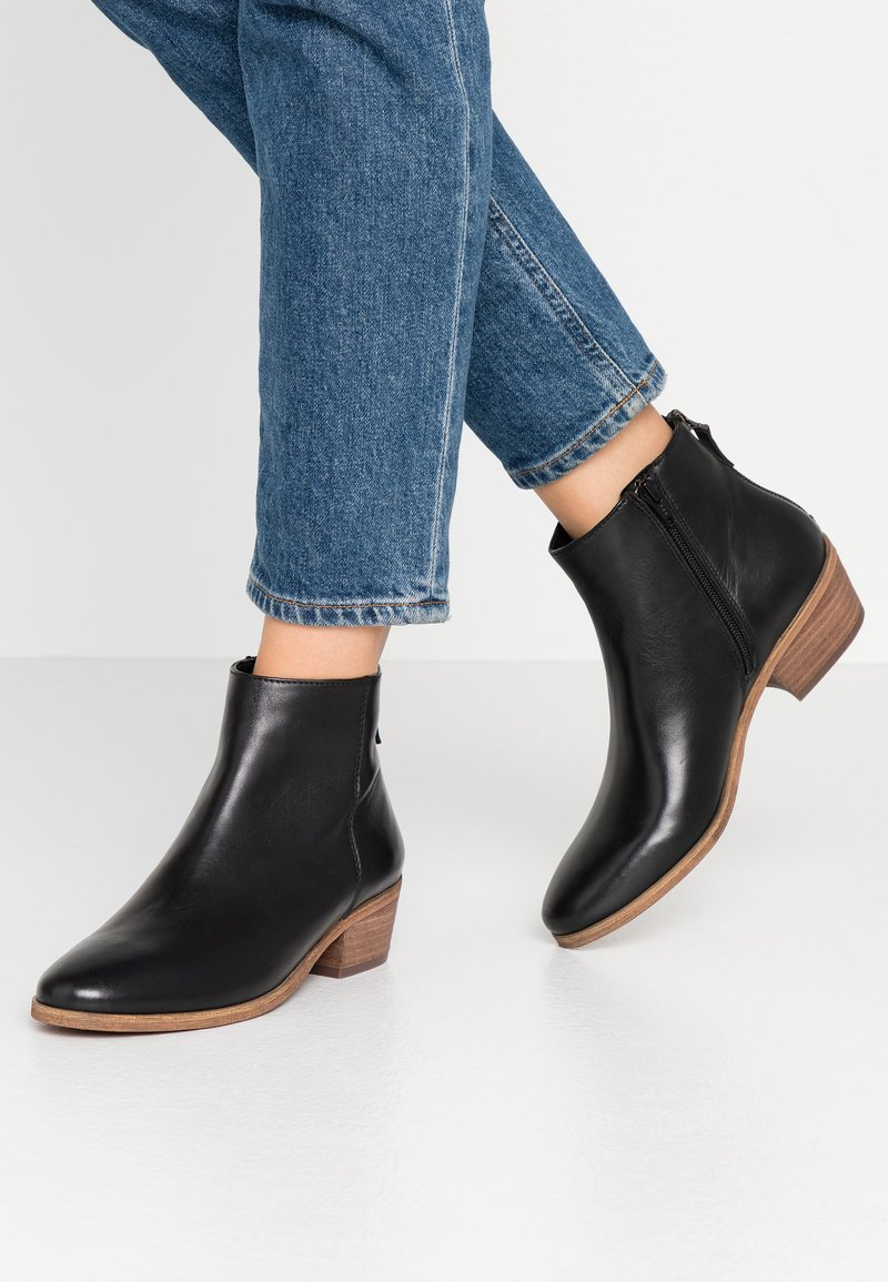 Steven New York by SPM - MAIZIP - Ankle boots - black