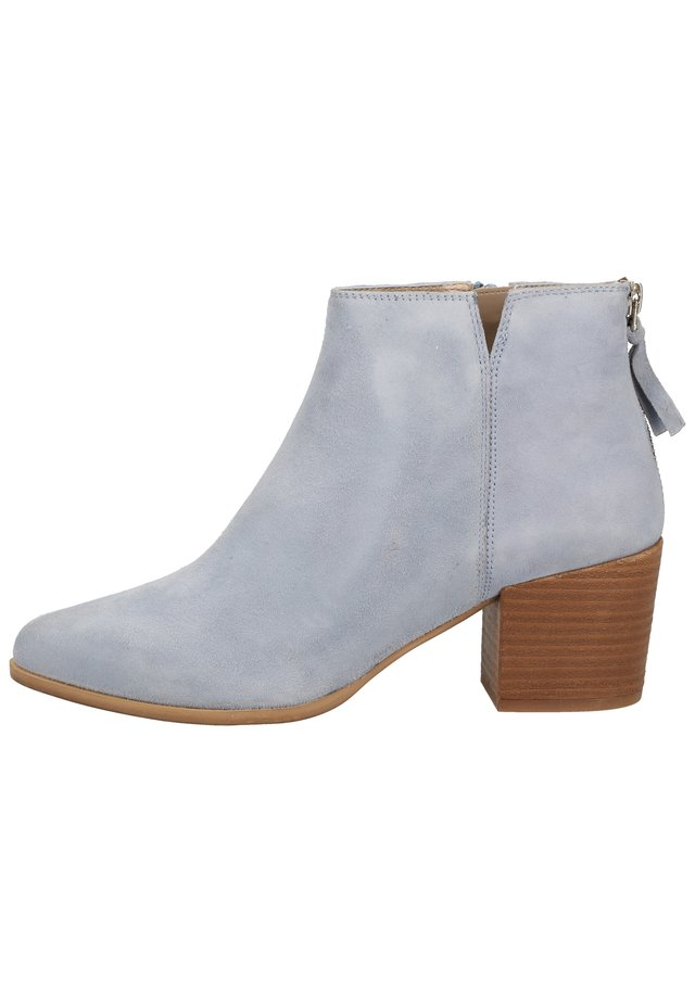 STIEFELETTE - Classic ankle boots - lt blue 04087