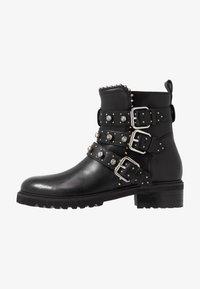 Steven New York - HARMONY - Kovbojské/motorkářské boty - black - 1