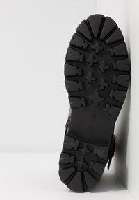 Steven New York - XIAMARA - Kovbojské/motorkářské boty - black - 6