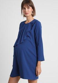 Spring Maternity - CORY DRESS - Denní šaty - peacock - 0